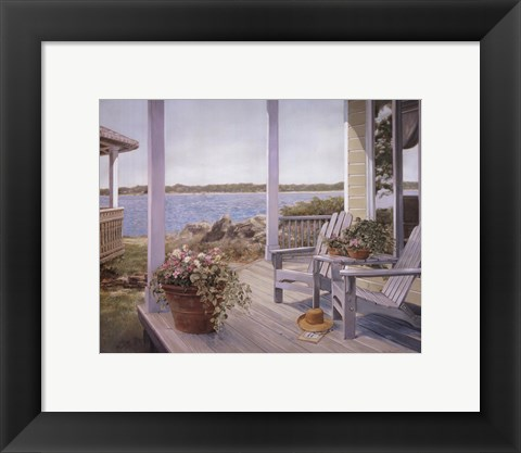 Framed Shades of Summer II Print