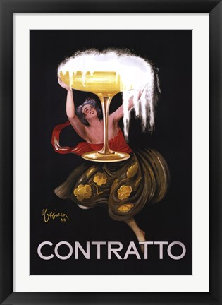 Framed Contratto Print