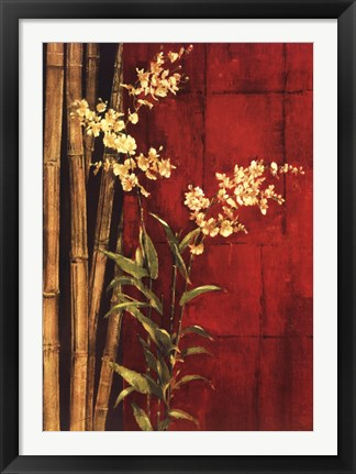 Framed Zen Contemporary Print
