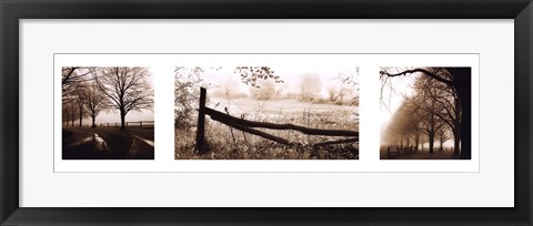 Framed Peaceful Moments Print