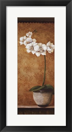 Framed Hanna's Orchids II - mini Print