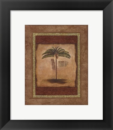 Framed Palm Botanical Study II - special Print