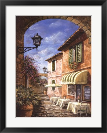 Framed Through the Archway Print