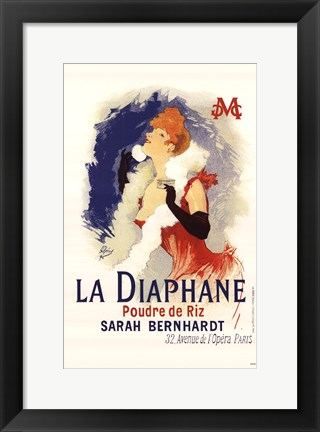 Framed Diaphane Print