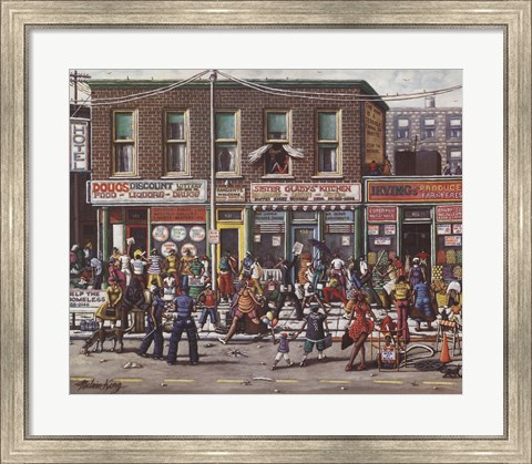 Framed Strip Print