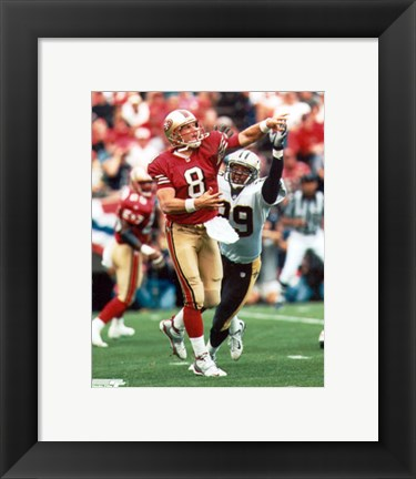 Framed Steve Young Print