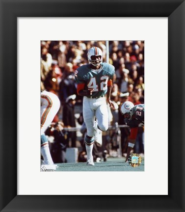 Framed Paul Warfield - Action Print
