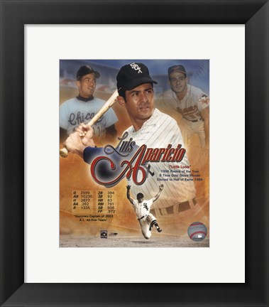 Framed Luis Aparicio - Composite/Portrait Plus Print