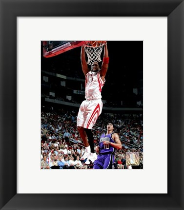 Framed Tracy McGrady  - '05 / '06 Action Print