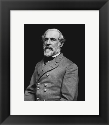 Framed Portrait of General Robert E. Lee (#3) Print