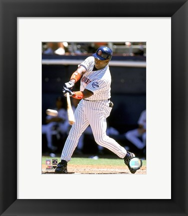 Framed Tony Gwynn - 1999 Batting Action Print