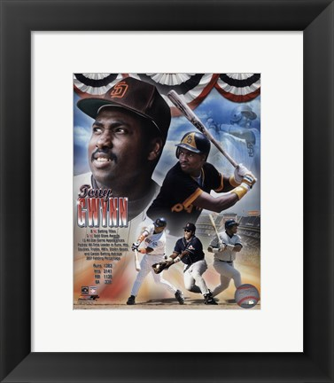Framed Tony Gwynn - Legends Composite Print