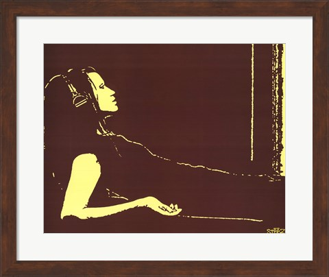 Framed Lounging Print
