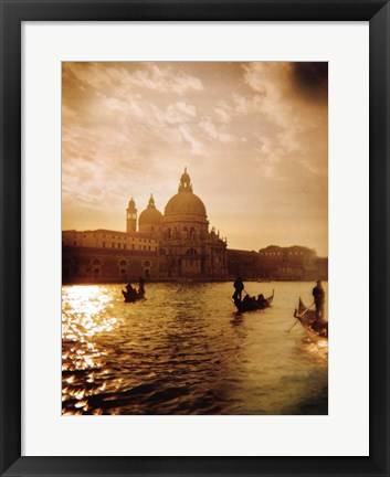Framed Venezia Sunset I Print