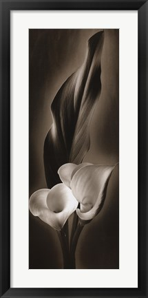 Framed Unfolding I Print