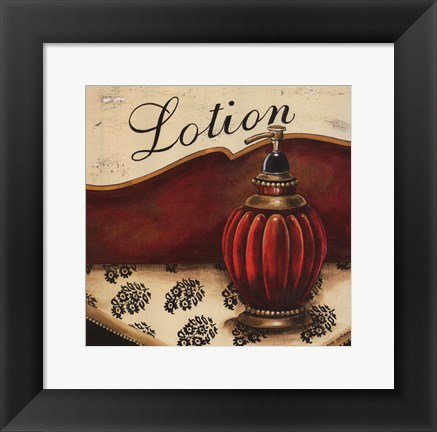 Framed Lotion - Mini Print