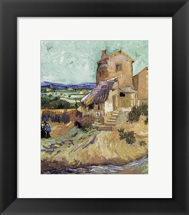 Framed Old Mill, c.1888 Print