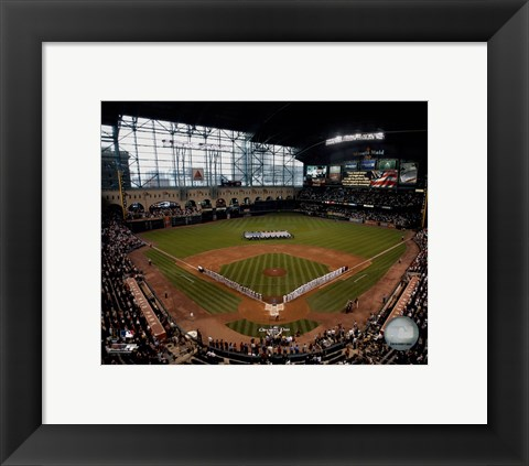 Framed Minute Maid Park - 2007 Opening Day Print