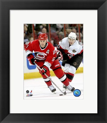 Framed Cory Stillman - '06 / '07 Home Action Print