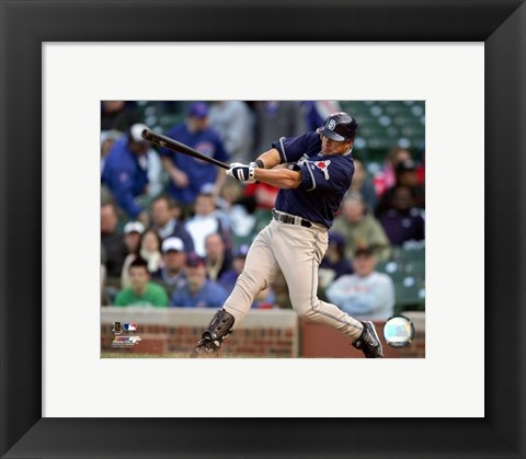 Framed Brian Giles - 2007 Batting Action Print