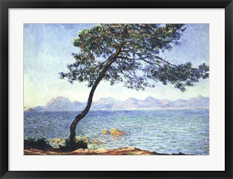Framed Antibes View Print