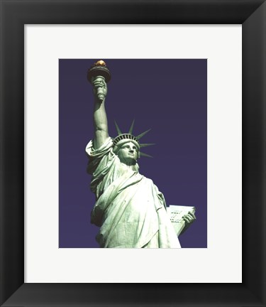 Framed Liberty NYC Print