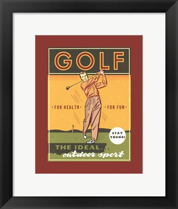 Framed Ideal Outdoor Sport Print