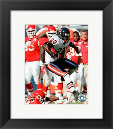 Framed Devin Hester - 2007 Action Print