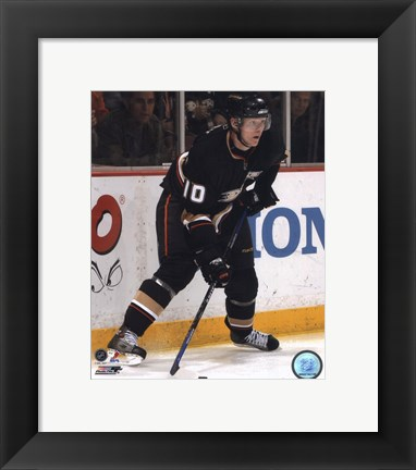 Framed Corey Perry - 2007 Home Action Print
