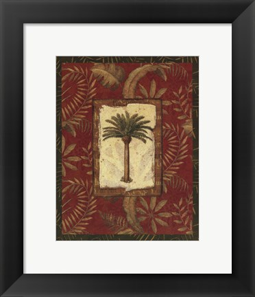 Framed Exotica Palm II - Mini Print