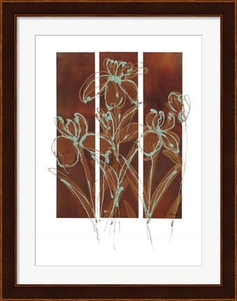 Framed Flourish I Print