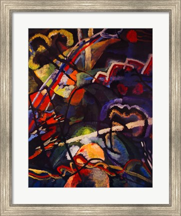 Framed Composition Storm Print