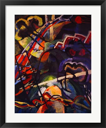 Composition Storm Painting By Wassily Kandinsky At