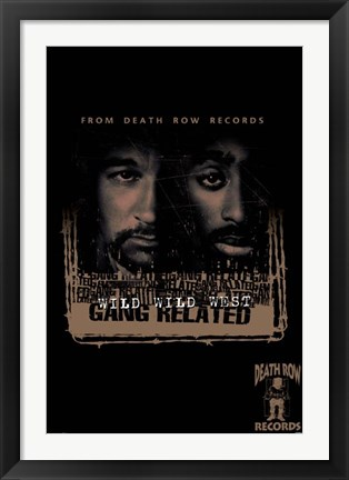 Framed Death Row - Gang Related Print