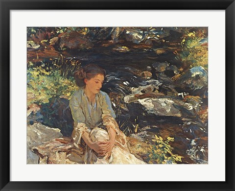 Framed Black Brook Print