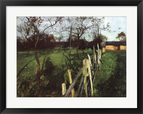 Framed Home Fields Print