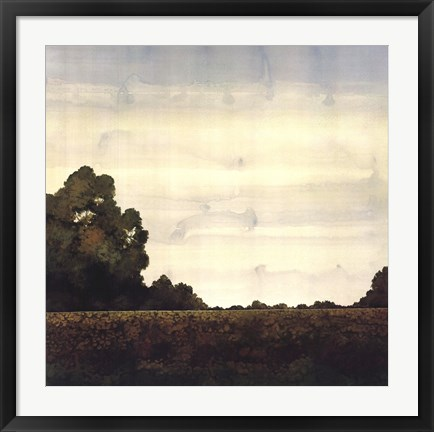 Framed Tree Line II Print