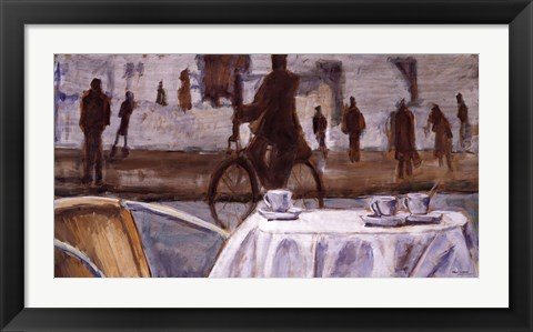 Framed Bicycle Ride Print