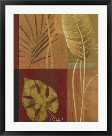 Framed Tropical Spirit II Print