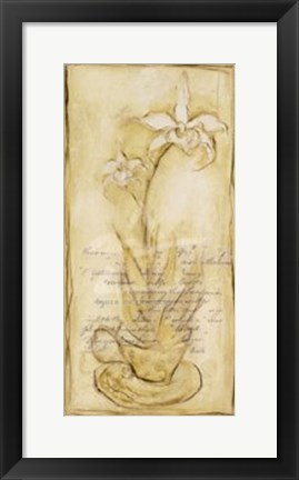 Framed Afternoon Orchids II Print