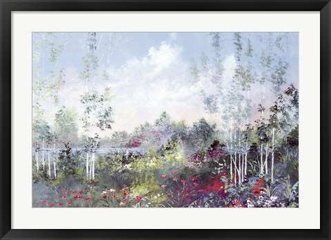 Framed Rainbow Place III Print