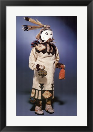 Framed Kachina Doll Print