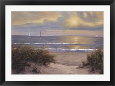 Framed Gentle Breeze Print