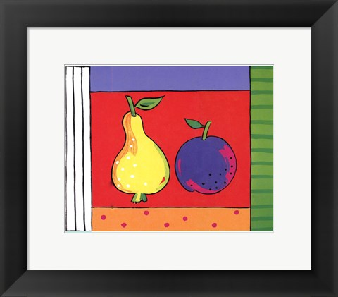 Framed Fab Fruit Print