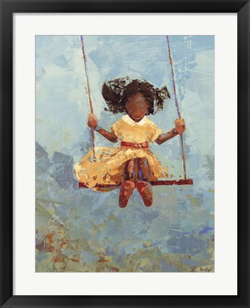 Framed Swing No. 11 Print