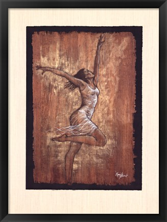 Framed Dance of Joy I Print