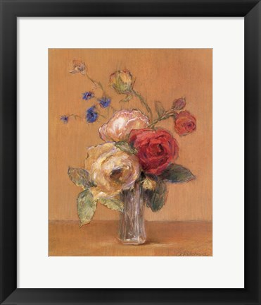 Framed Rose Whimsy Print