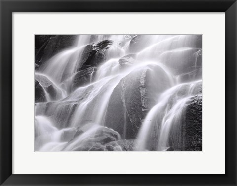 Framed Waterfall, Yosemite Print