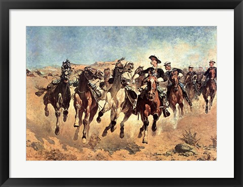 Framed Dismounted Print