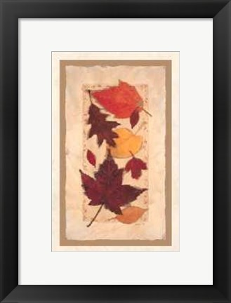 Framed Autumn Harvest I Print